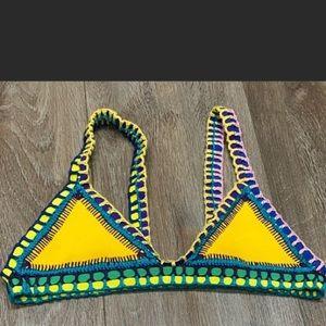 Kiini crotchet bikini top